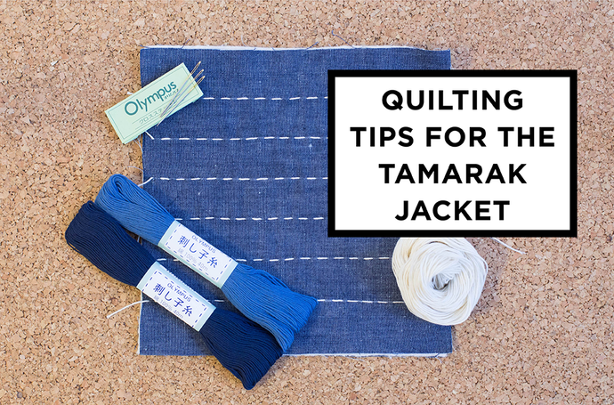 Quilting your Tamarack