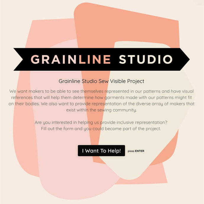 Grainline Studio Sew Visible Project