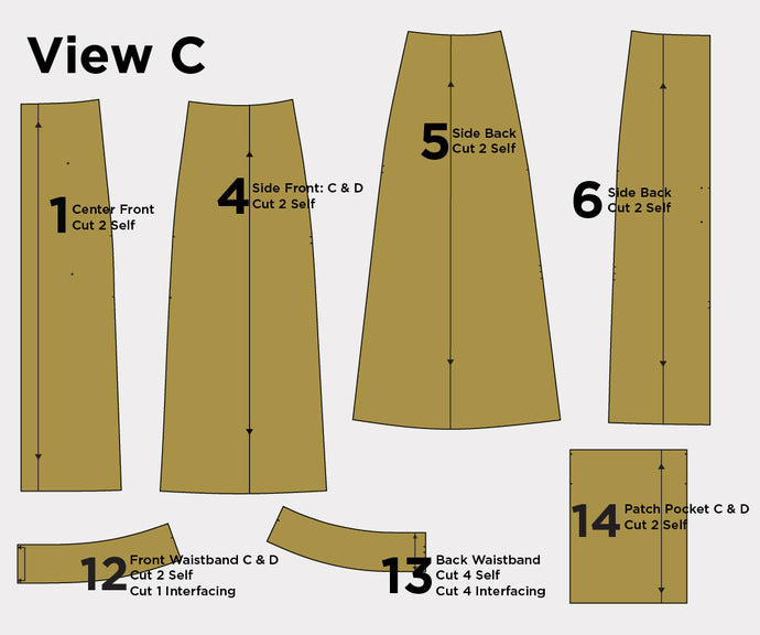 Reed Sew-Along: Cutting