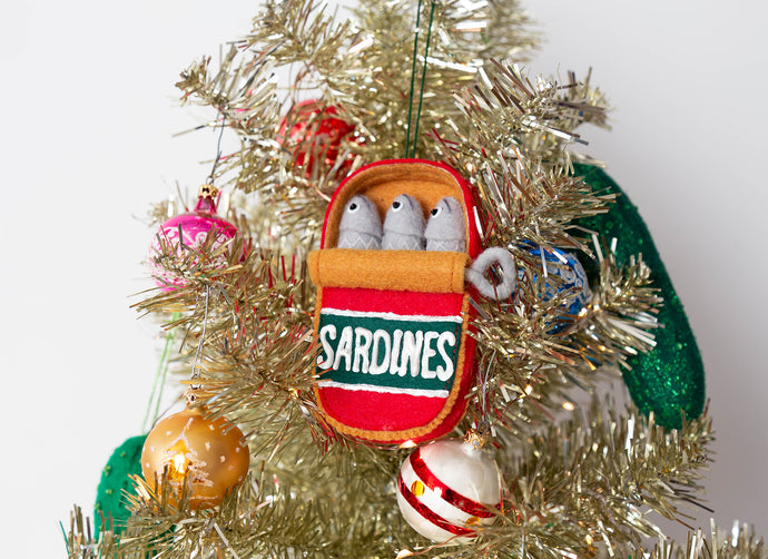 Holiday Ornaments | Can of Sardines
