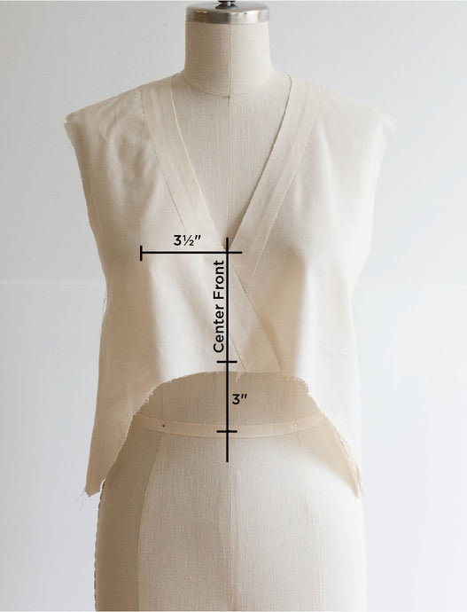 Felix Sew-Along: Making a Muslin and Basic Adjustments