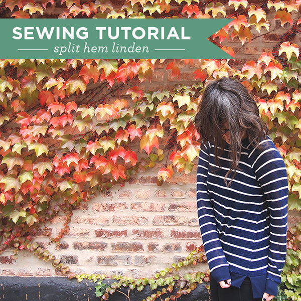 Split Hem Linden Tutorial