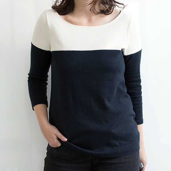Lark Variation Three: Colorblock Top
