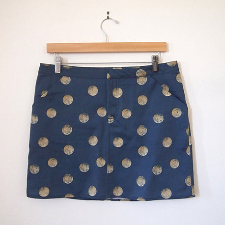 Grainline Moss Skirt x Spoonflower