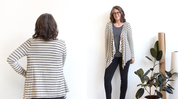 Lark Sew-Along: Cardigan Pattern Alterations