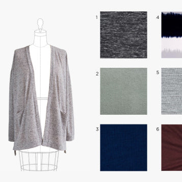 Styling & Swatches: Driftless Cardigan