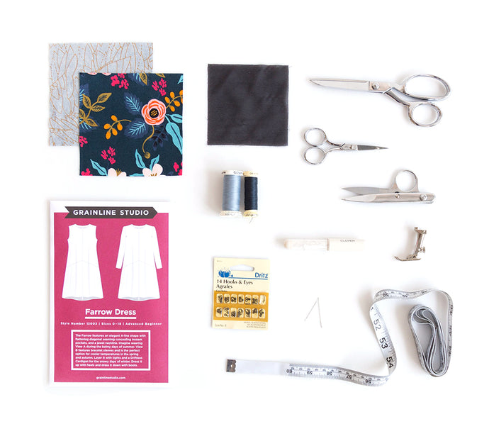 Farrow Sew-Along: Gathering Supplies