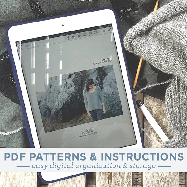 Organizing PDF Patterns & Instructions