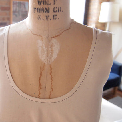 Sewing Tutorial | Getting Flat Bias Necklines
