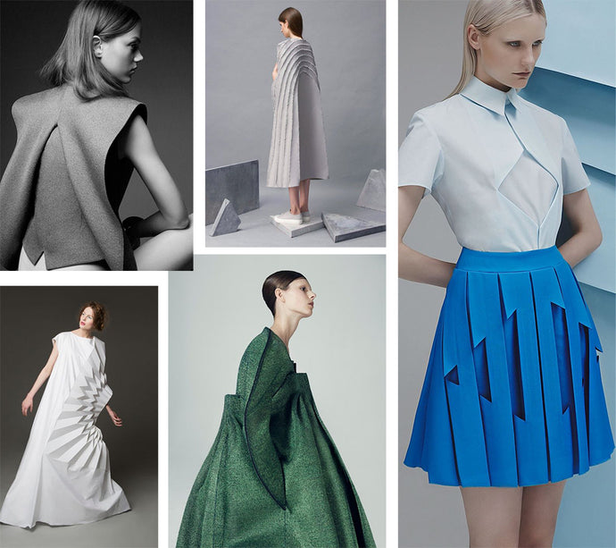 Design Details: Sculptural Pleats