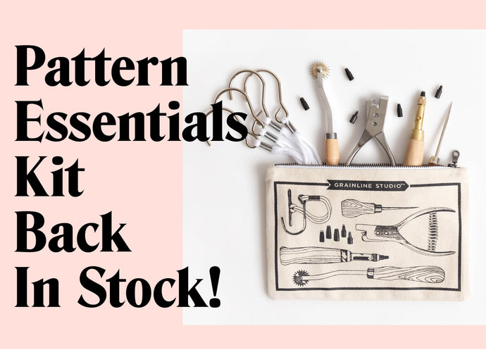 Pattern Essentials Tool Kits are Back in Stock!