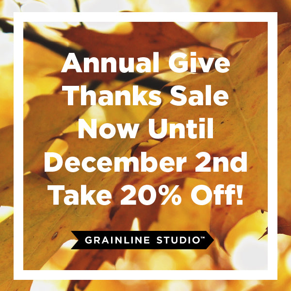 Our Give Thanks Sale!