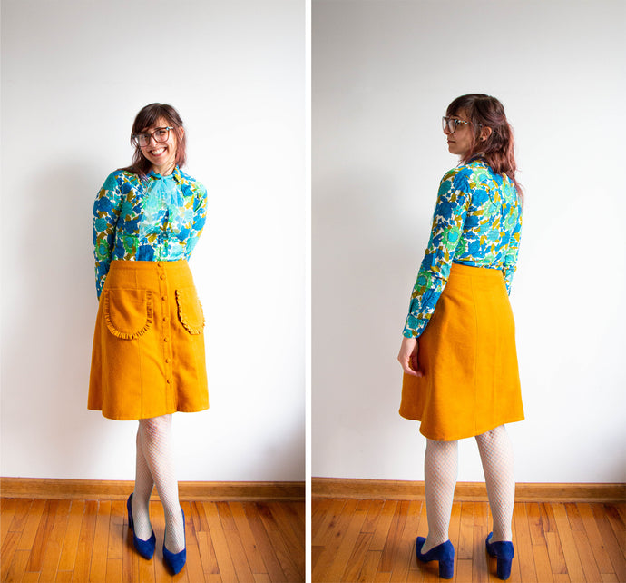 Reed Skirt Modification: Ruffled Patch Pockets Tutorial