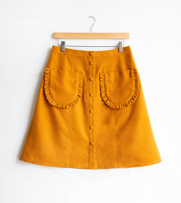 Lexi's Reed Skirt With Fancy Pockets