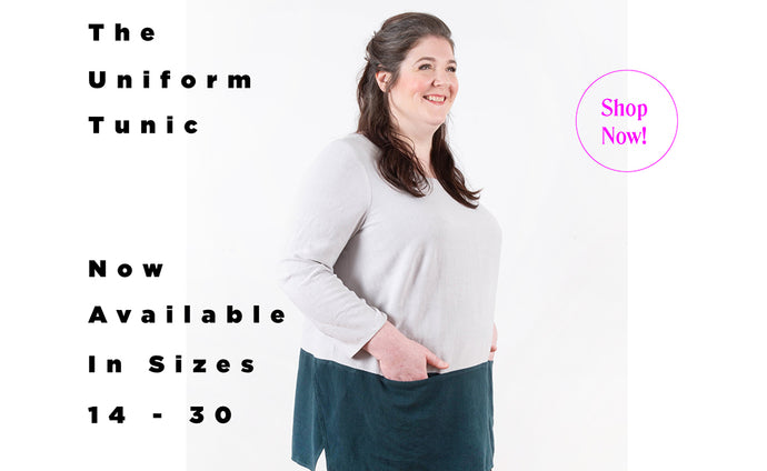 Introducing the Uniform Tunic in Sizes 14 – 30!