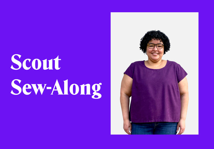 Get Ready for the Scout Tee Sew-Along