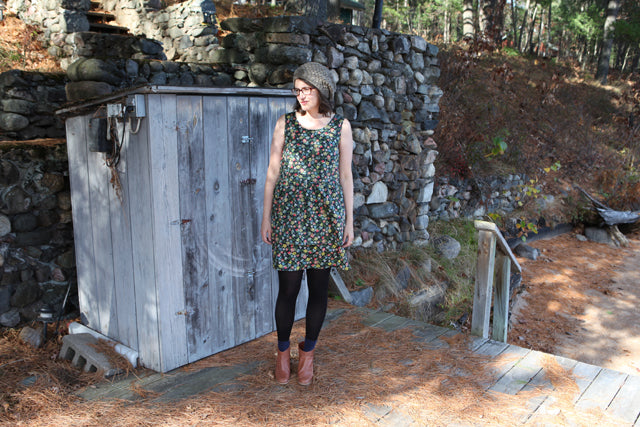 Liberty Edenham Dress | Grainline Studio