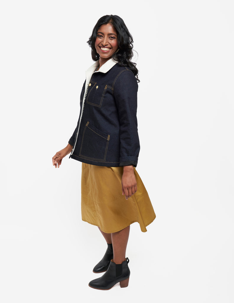 Thayer Jacket & Reed Skirt | Grainline Studio