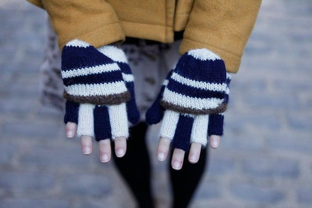 evening hike mitts | grainline studio