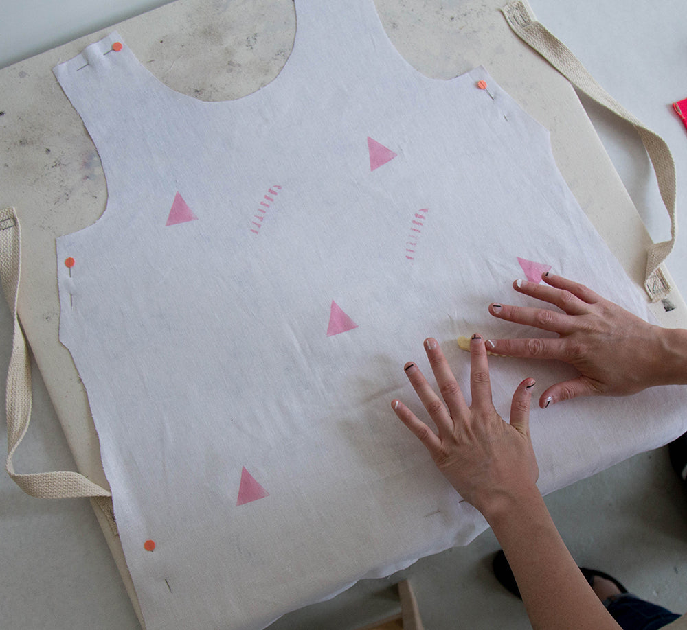 Grainline Studio | Potato Printing Tutorial