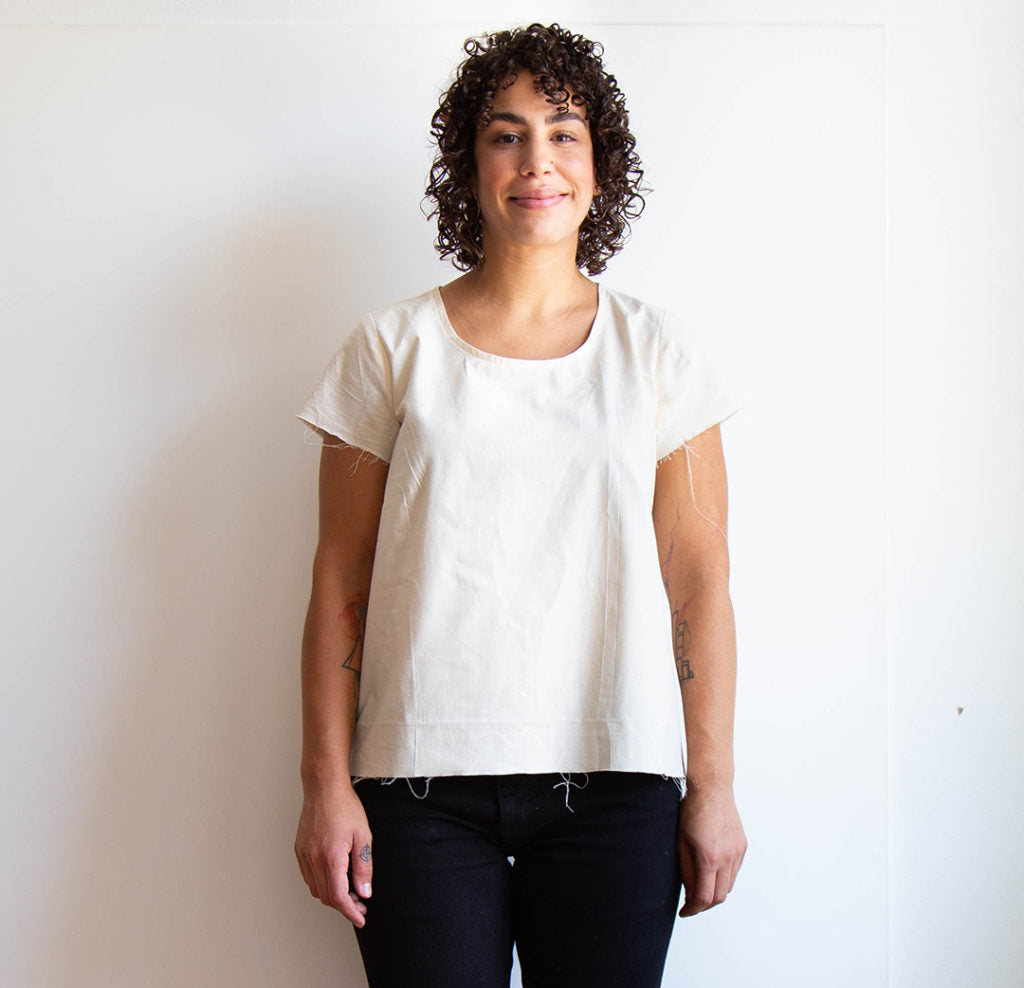 Scout Tee Full Bust Adjustment | Grainline Studio