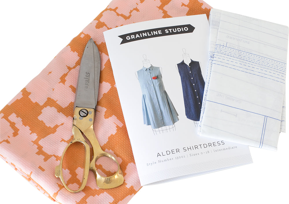 Grainline Studio | Alder Shirtdress