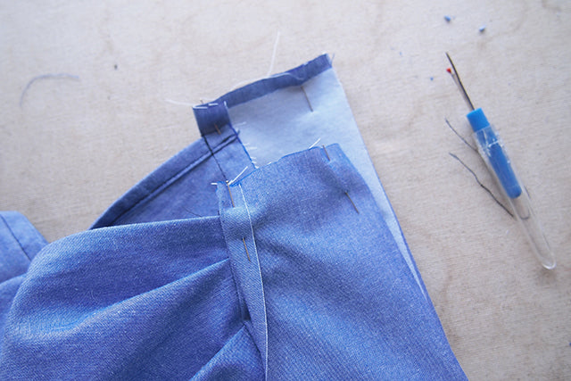 Archer Sew-Along: Buttons and Hems