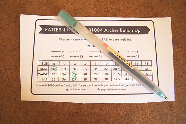 Archer Sew-Along: Assembling your Pattern