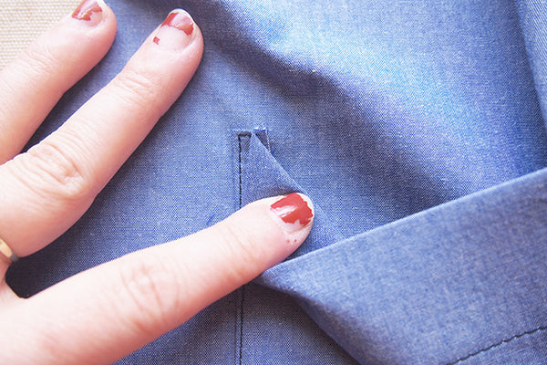 Archer Sew-Along: Attaching the Pockets