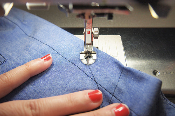 Archer Sew-Along: Buttons and Buttonholes