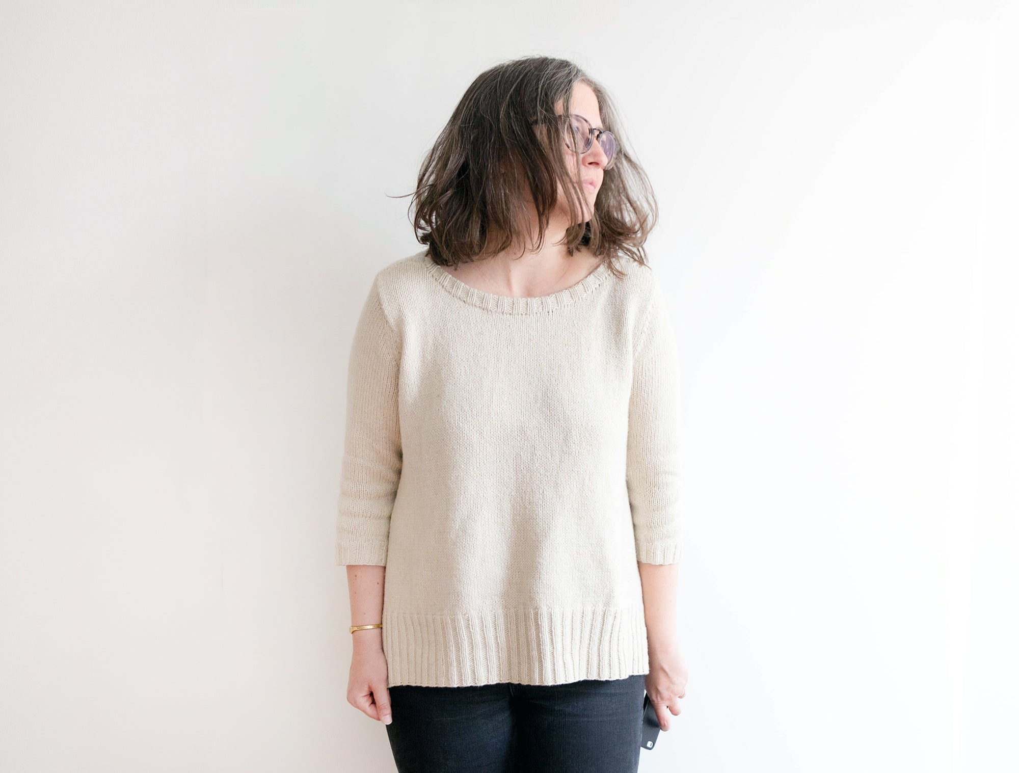 Bateau-Style Sweater | Grainline Studio