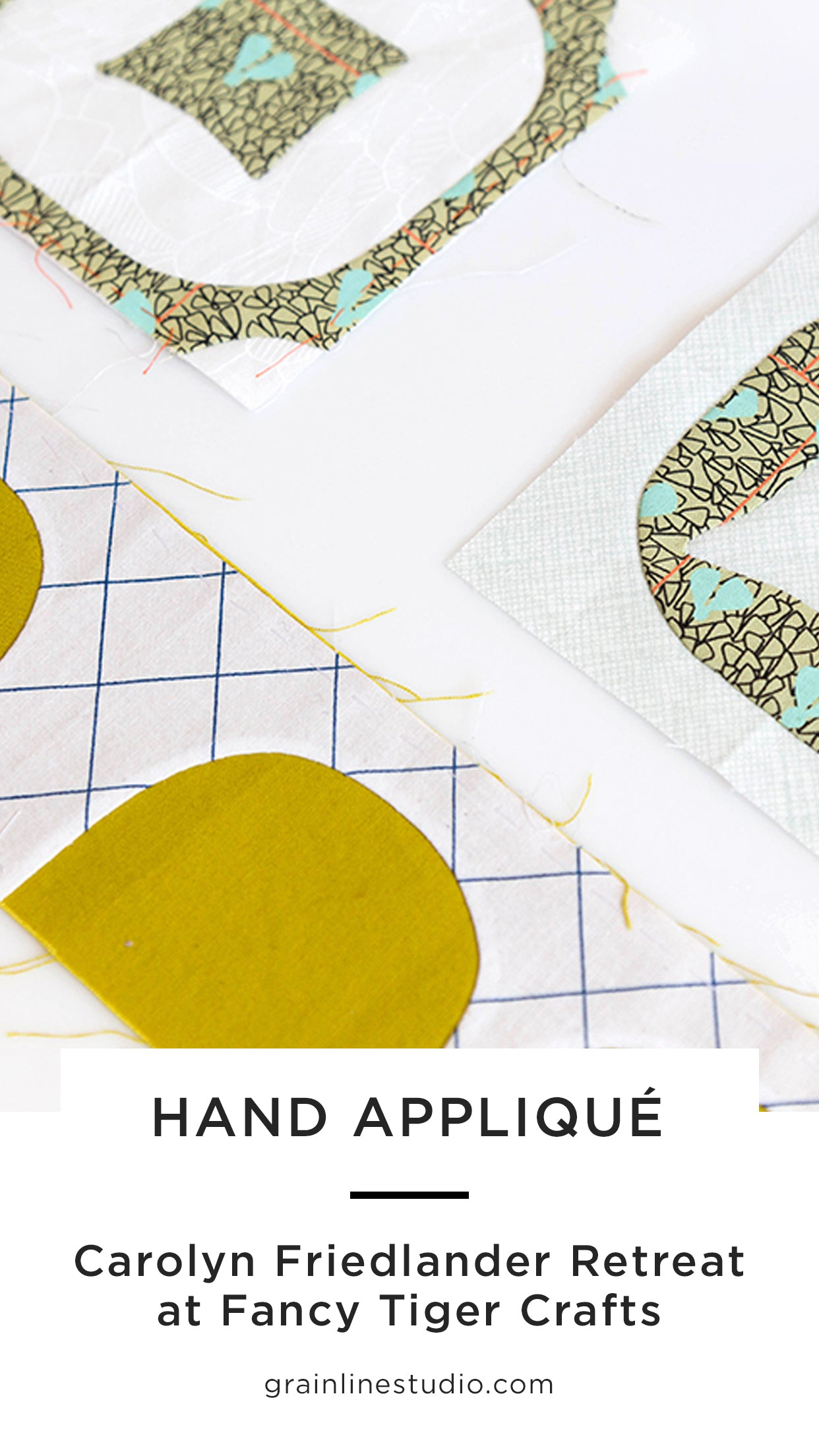 Carolyn Friedlander Weekend at Fancy Tiger Crafts | Grainline Studio