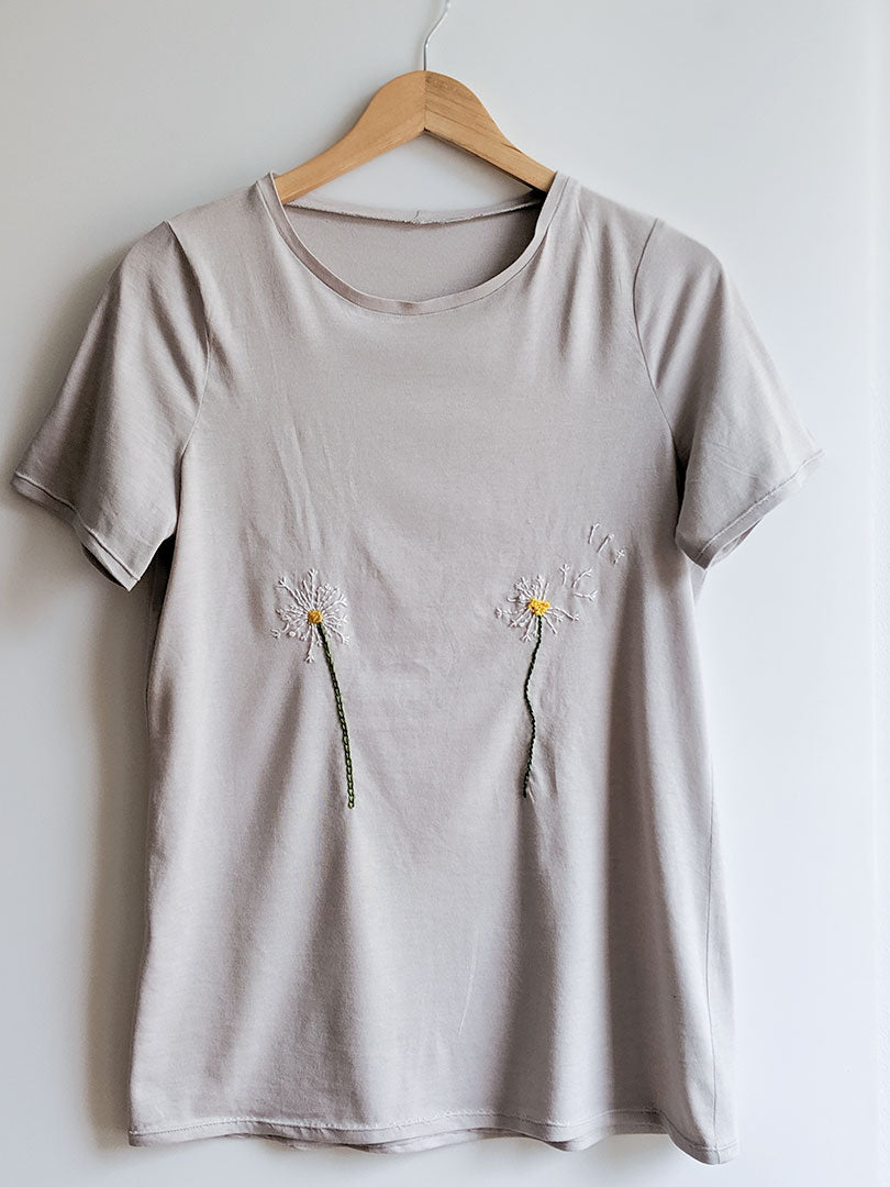 Embroidered Lark Tees | Grainline Studio