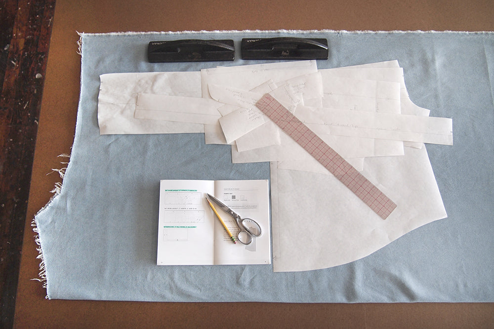 Grainline Studio | Alder Sew Along Day 4 | Cutting Your Alder