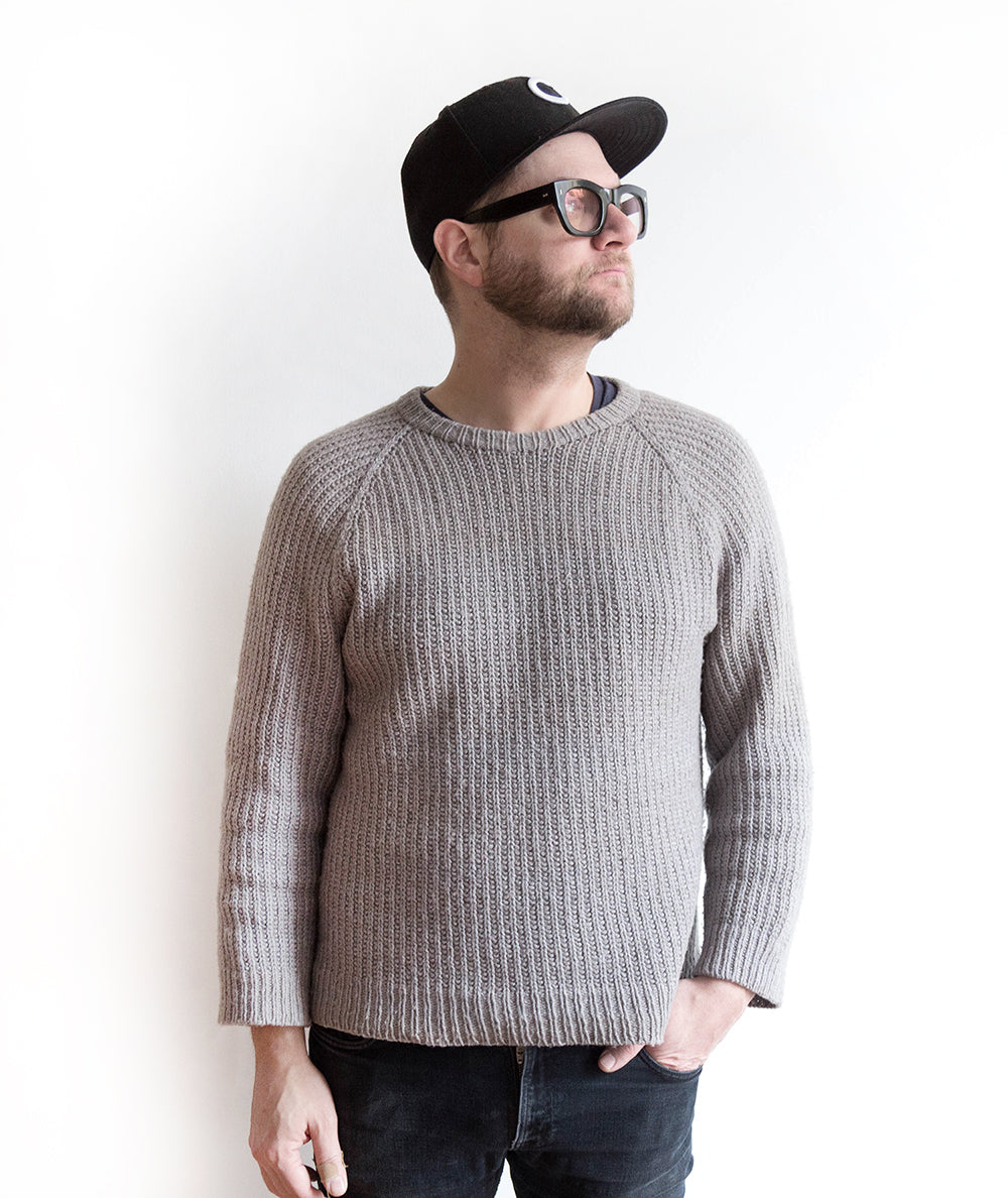 The Epic Tale of a Sweater for Jon | Grainline Studio