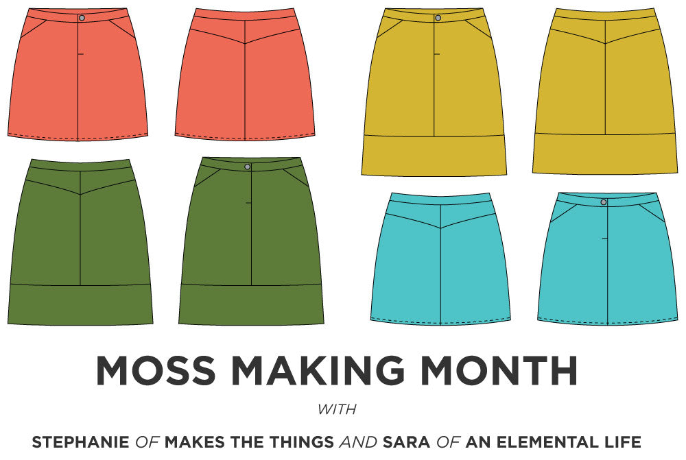 Grainline Studio | Moss Making Month