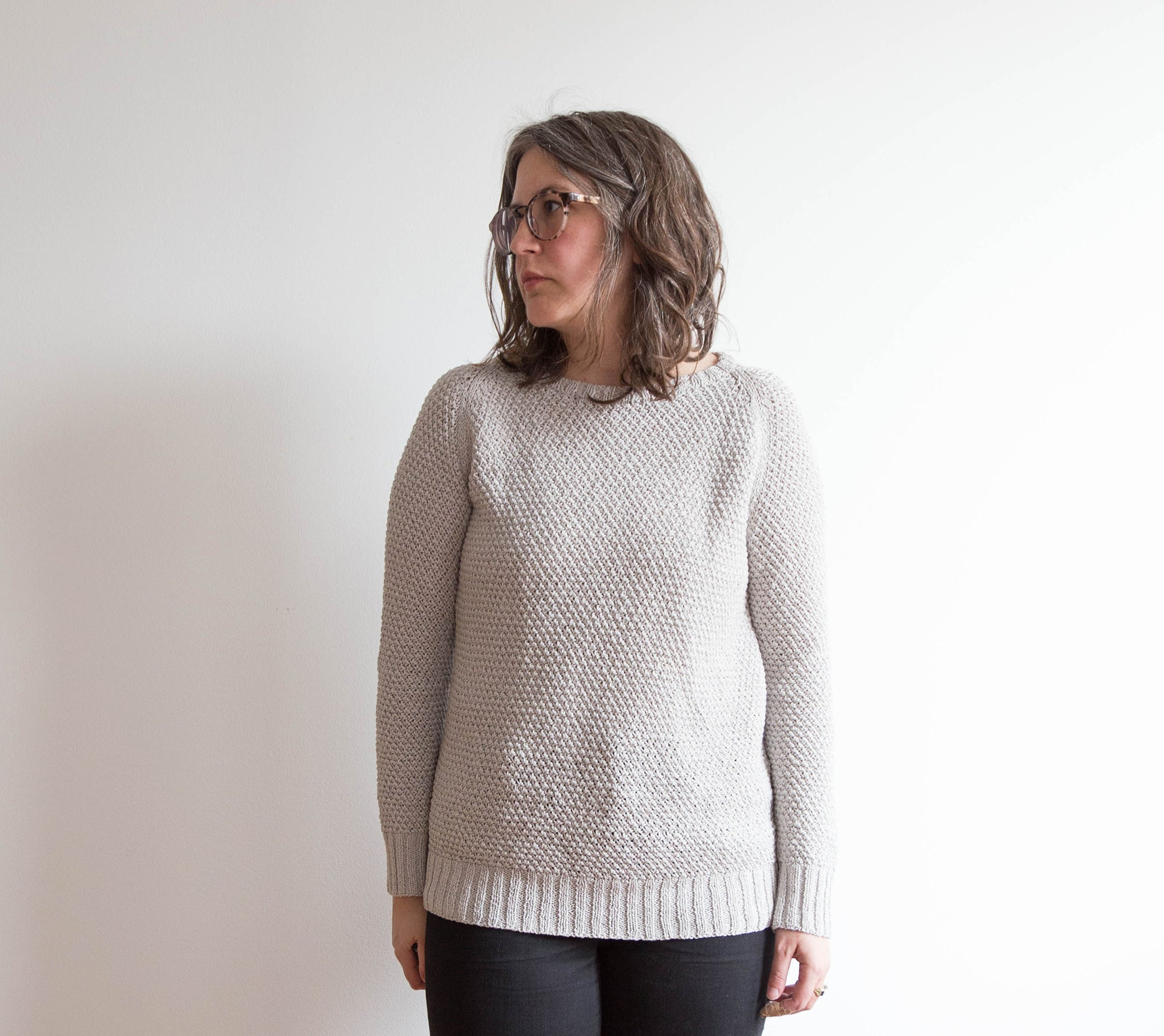 Finished Garment: Martine Pullover