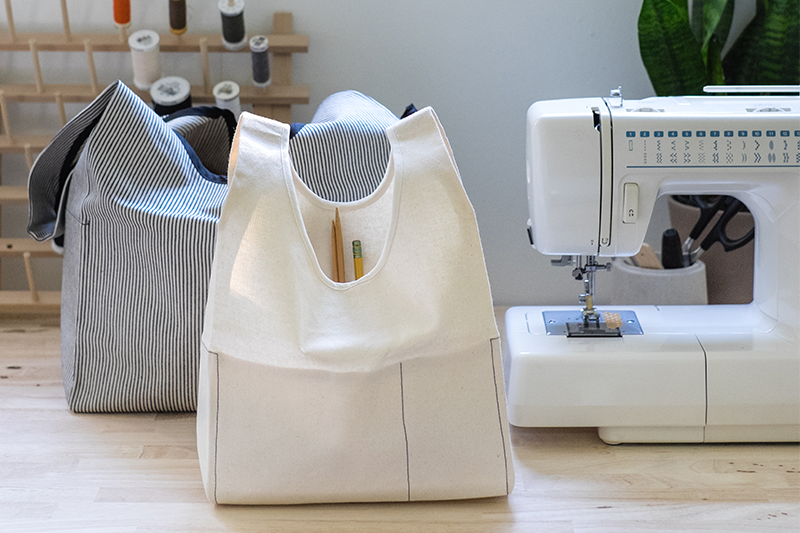 Introducing The Stowe Bag | Grainline Studio