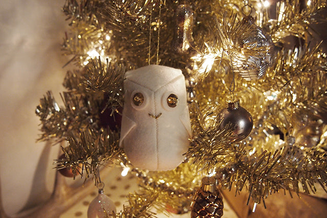 Free Owl Ornament Pattern | Grainline Studio