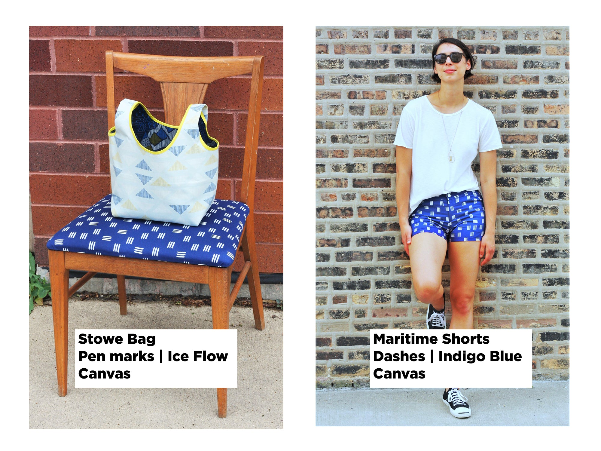 A Summer Lookbook (and discount code!) from Oak Fabrics