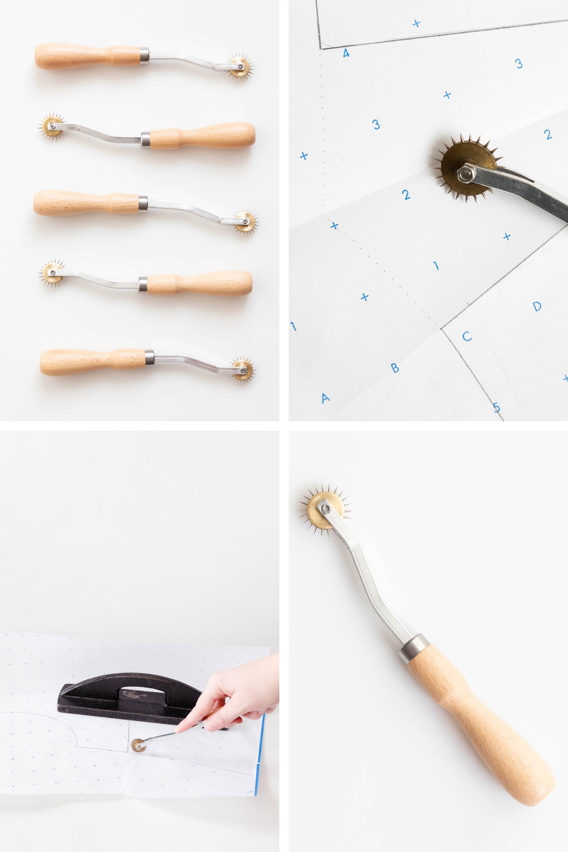 All About our Pattern Essentials Tool Kits | Needle Point Tracing Wheel | Grainline Studio