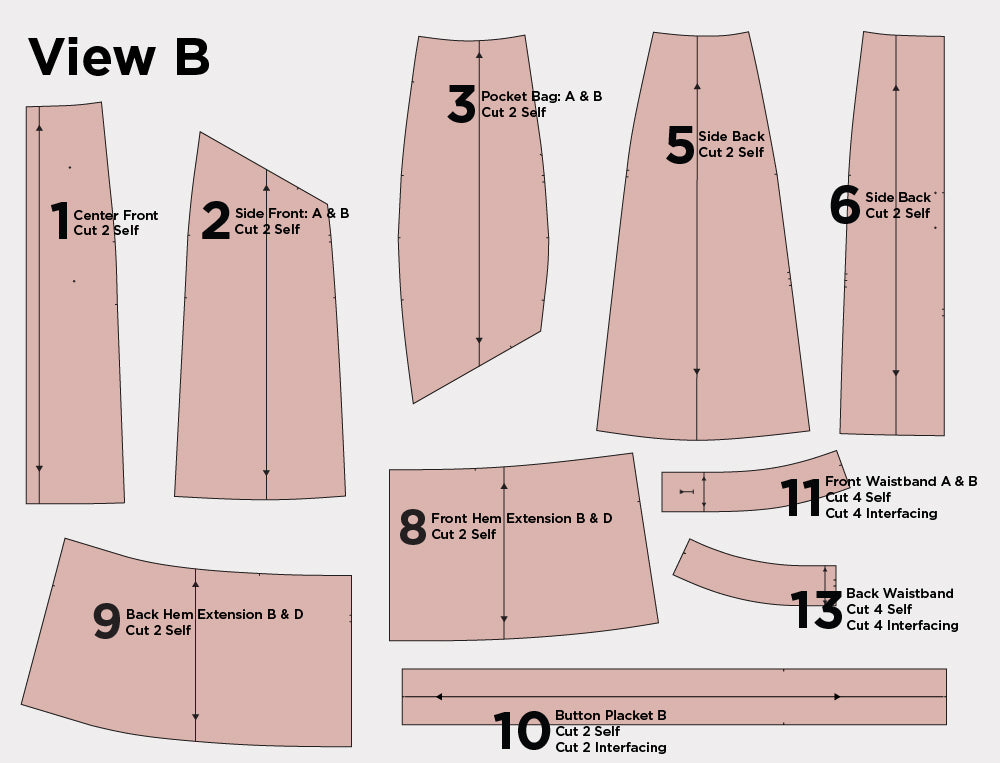 Reed Sew-Along: Cutting | Grainline Studio
