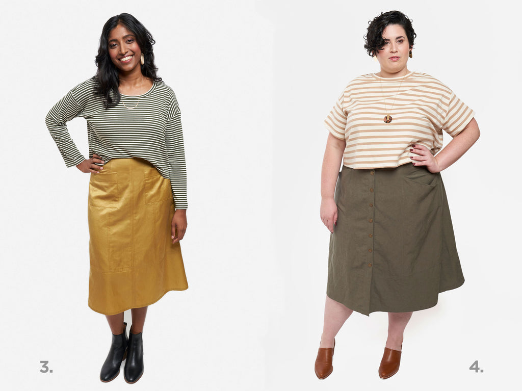 Grainline Studio Reed Skirt