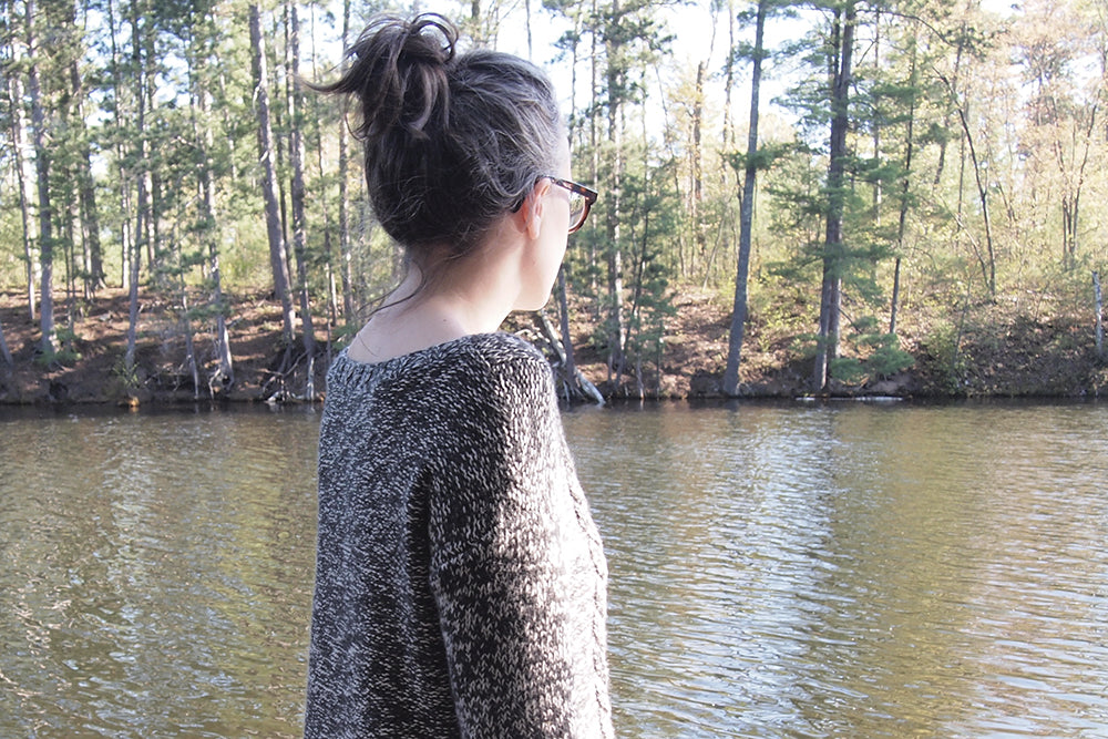 Stone Lake Sweater | Grainline Studio