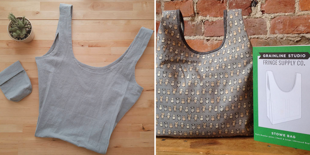 2015 Pattern Recap: Stowe Bag | Grainline Studio