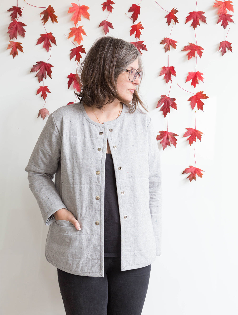 Tamarack Jacket in Print | Grainline Studio