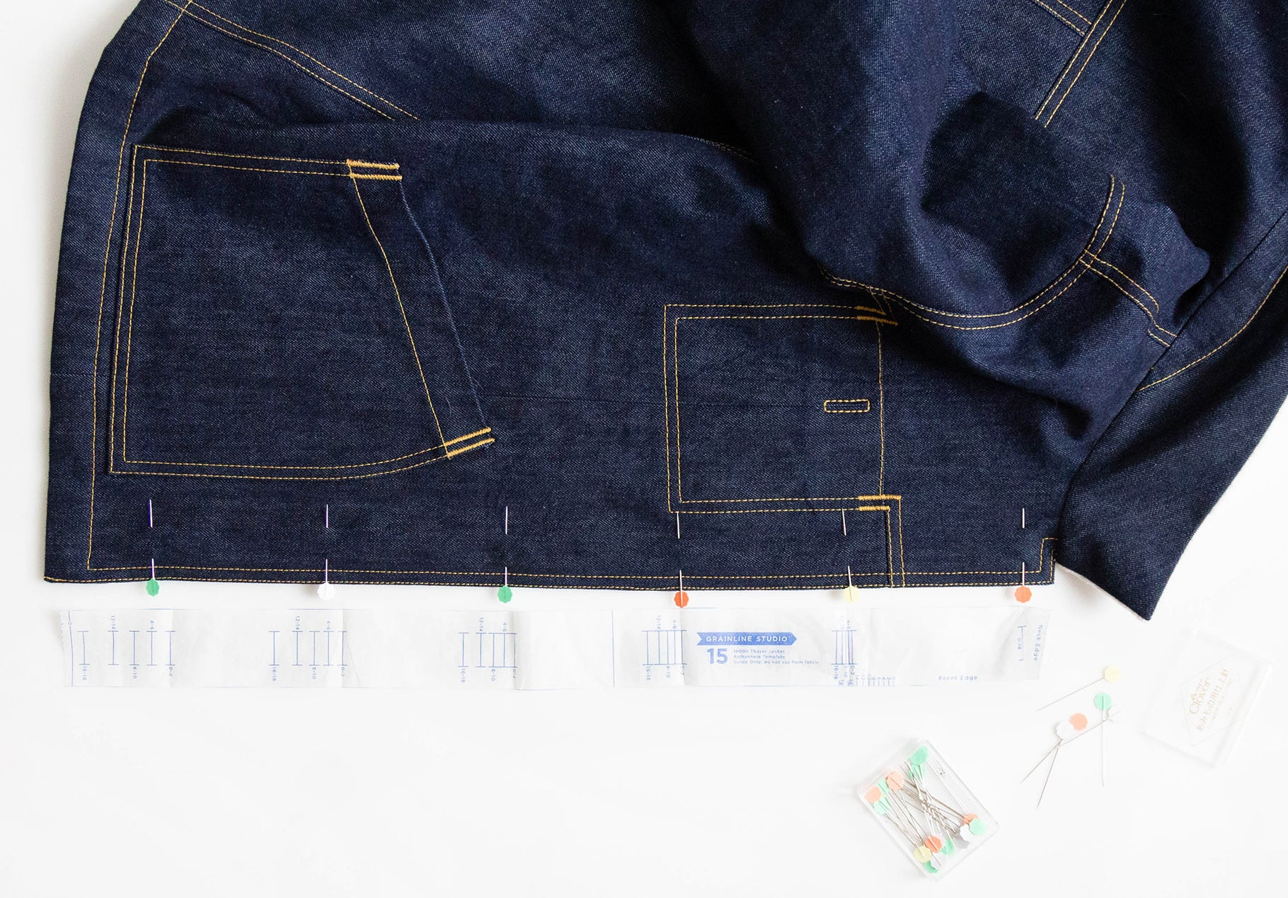Thayer Sew-Along: Buttons & Buttonholes | Grainline Studio