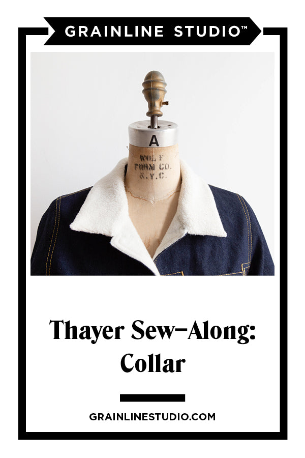 Thayer Sew-Along: Collars | Grainline Studio
