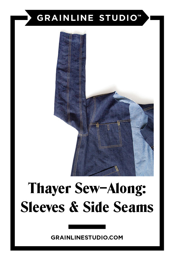 Thayer Sew-Along: Sleeves, Shoulders, and Side Seams | Grainline Studio