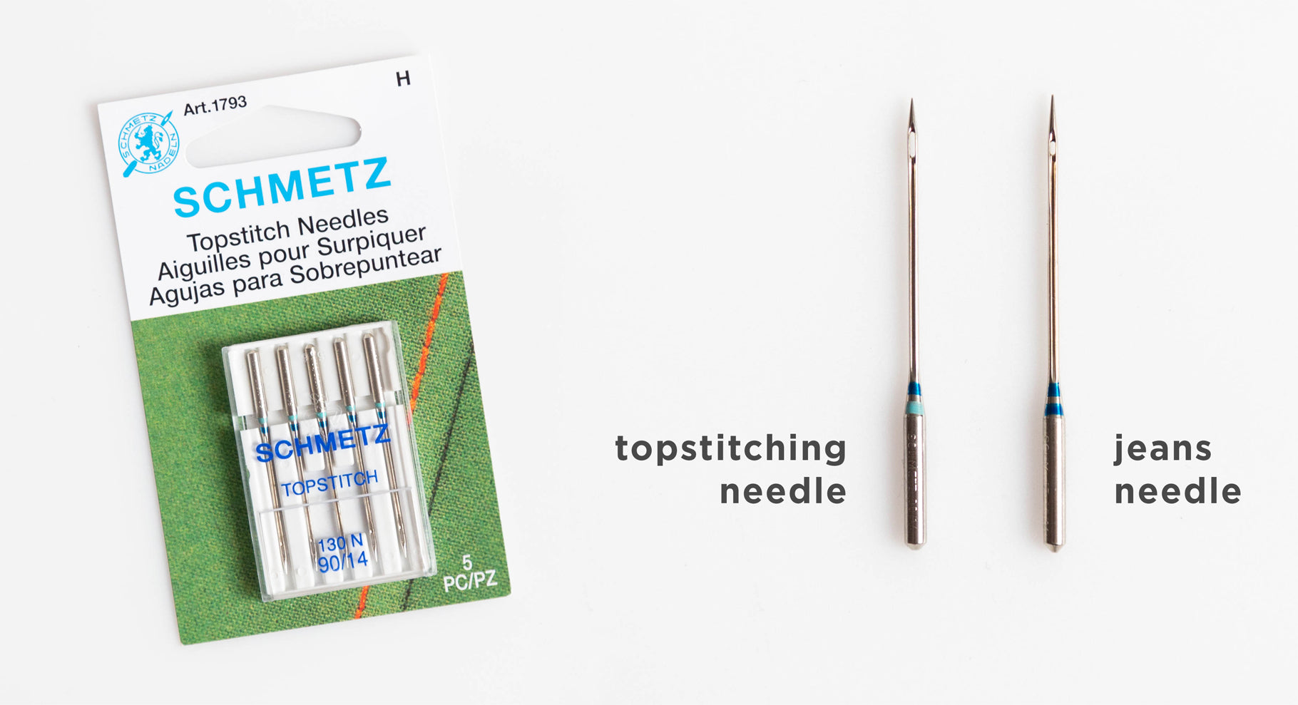 Our Top Tips for Professional Topstitching: Using the proper needle size | Grainline Studio